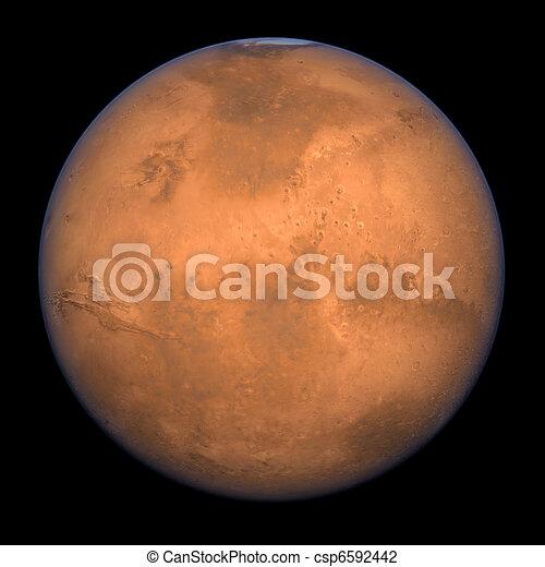 Mars - Full Shot - csp6592442