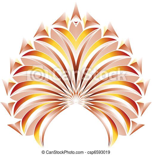Flora design - csp6593019