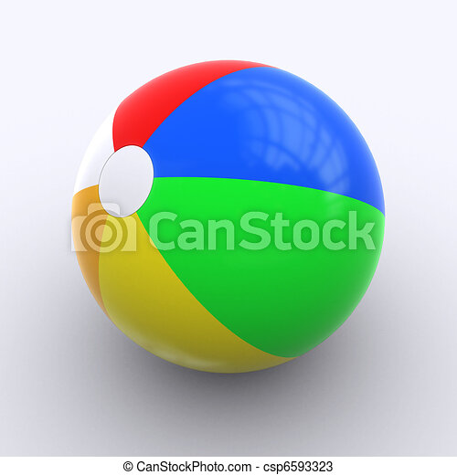 Beachball - csp6593323