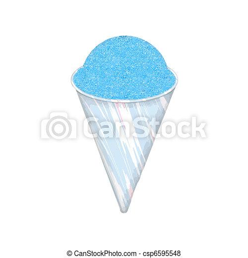 snow cone - csp6595548