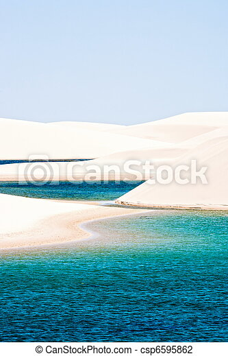 Lencois Maranheses national park - csp6595862