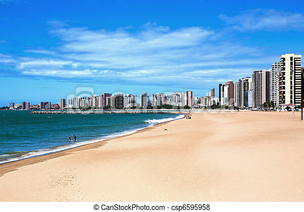 Fortaleza waterfront - csp6595958