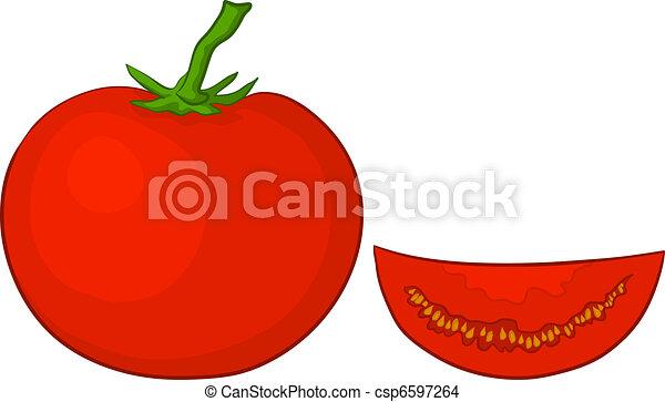 Tomato and segment - csp6597264