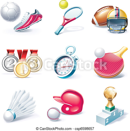 Vector cartoon style icon set. P.34 - csp6598657