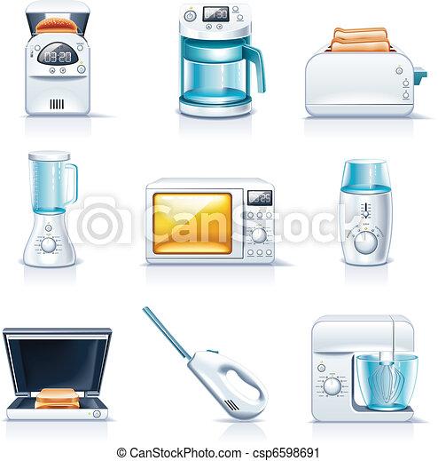 Vector household appliances. P.1 - csp6598691
