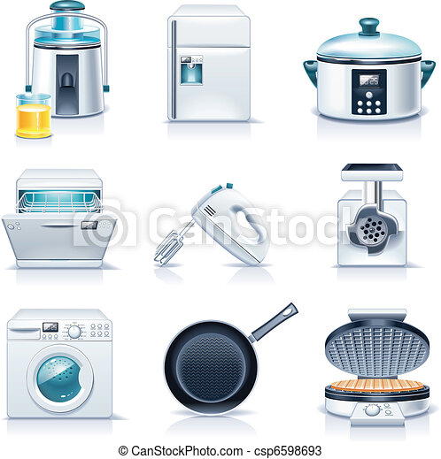 Vector household appliances. P.3 - csp6598693
