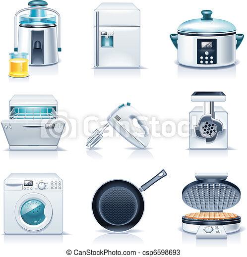 Vector household appliances. P.3 - csp6598693