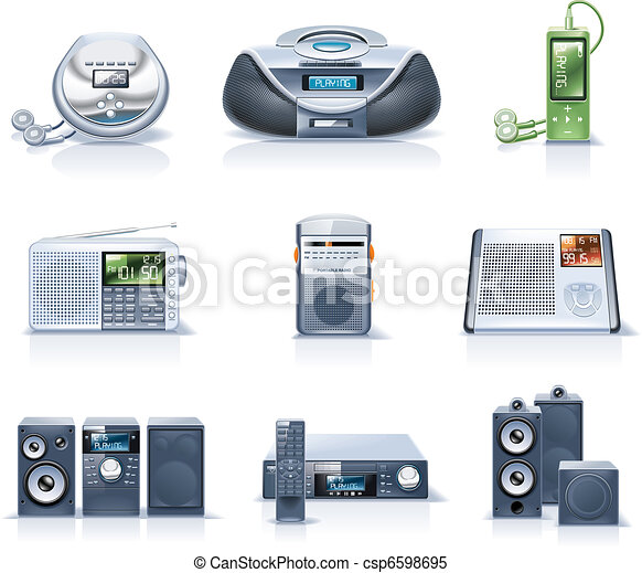 Vector household appliances. P.8 - csp6598695