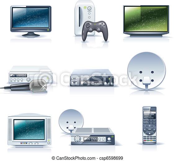 Vector household appliances. P.6 - csp6598699