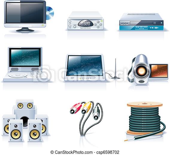 Vector household appliances. P.7 - csp6598702