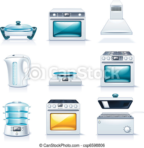 Vector household appliances. P.2 - csp6598806