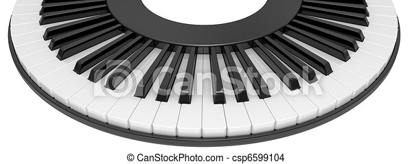 Piano Clipart Black And White Black Amp White Piano Keys