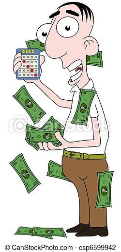Bingo winner - csp6599942