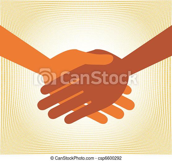 Handshake symmetry.  - csp6600292