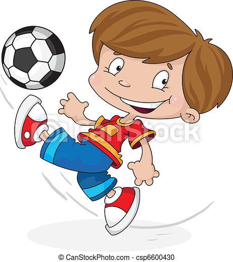 boy with a ball - csp6600430