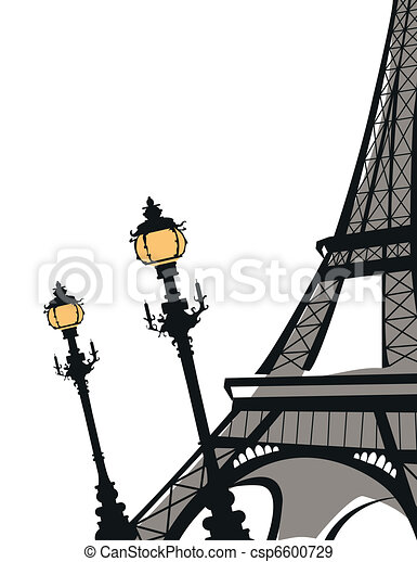 Eiffel Tower - csp6600729