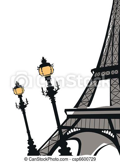 Eiffel Tower - csp6600729