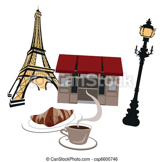 Symbols of Paris - csp6600746