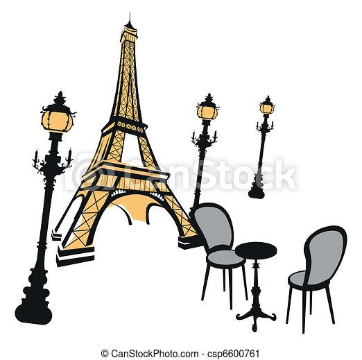 Eiffel Tower  - csp6600761