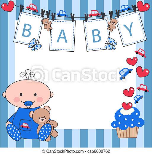 newborn baby boy - csp6600762
