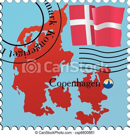 Copenhagen - capital of Denmark - csp6600881