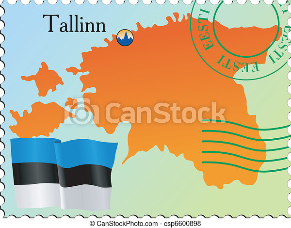 Tallinn - capital of Estonia - csp6600898