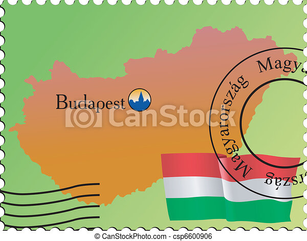 Budapest - capital of Hungary - csp6600906