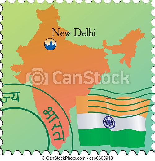 Stamp of capital - csp6600913