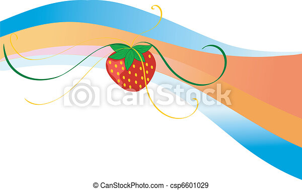 strawberry motive - csp6601029
