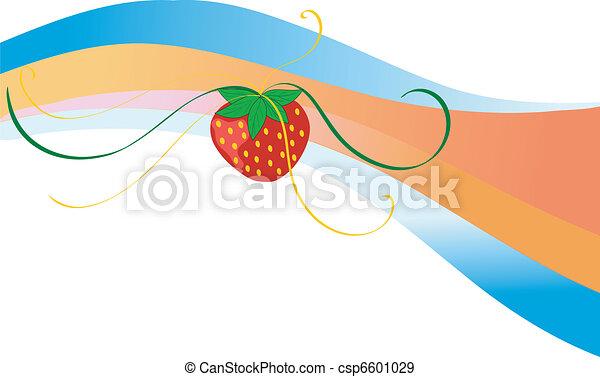 strawberry motive - csp6601029