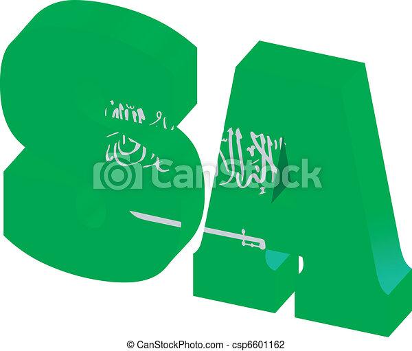 domain of Saudi Arabia - csp6601162