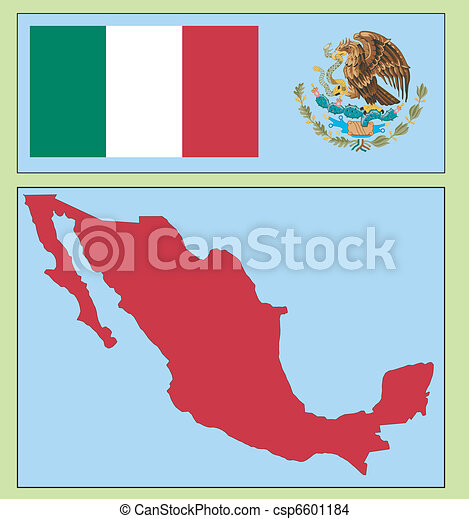 national attributes of Mexico - csp6601184