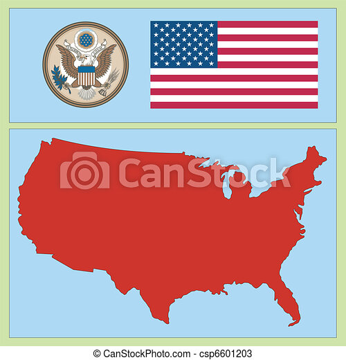 national attributes of USA - csp6601203
