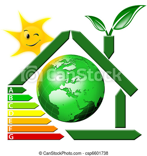 Energeting saving with terrestrial  - csp6601738