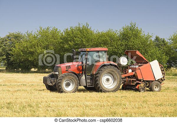Tractor - csp6602038