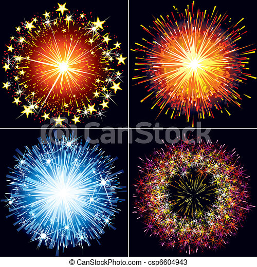 Fireworks - csp6604943