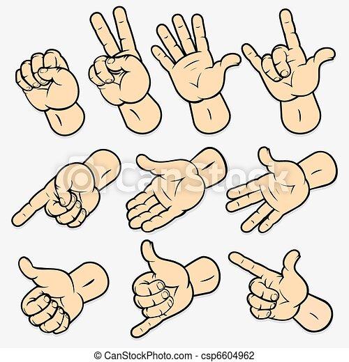 Gestures - csp6604962