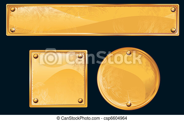Golden Plates - csp6604964