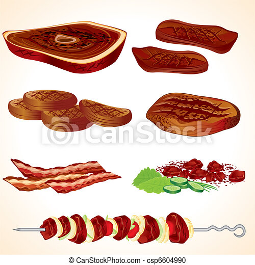 Grilled Meat - csp6604990