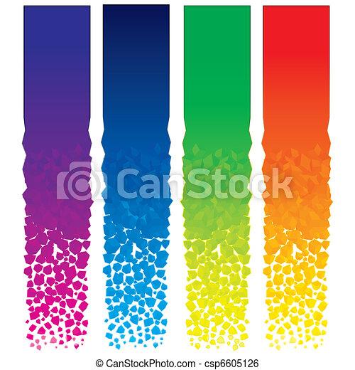 Vertical Banners - csp6605126