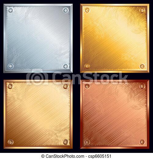 Metal plates - csp6605151