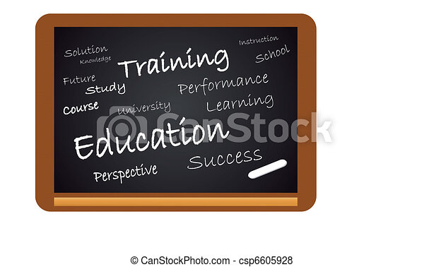 Chalkboard Education - csp6605928