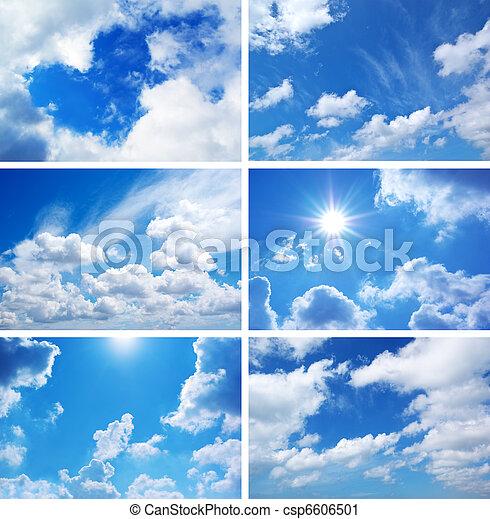 cielo, collezione - csp6606501