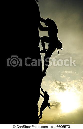 Climber - csp6606573