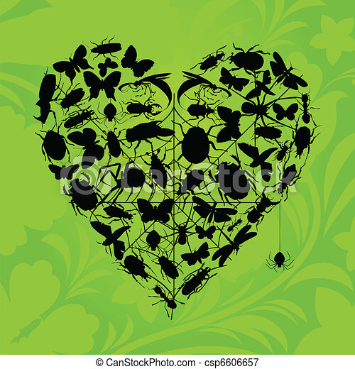 Heart of insects - csp6606657