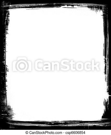 dessin de noir brosse cadre noir coups pinceau formulaire csp6606854 recherchez des. Black Bedroom Furniture Sets. Home Design Ideas