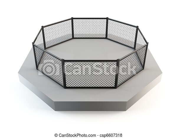 MMA octagon ring - csp6607318