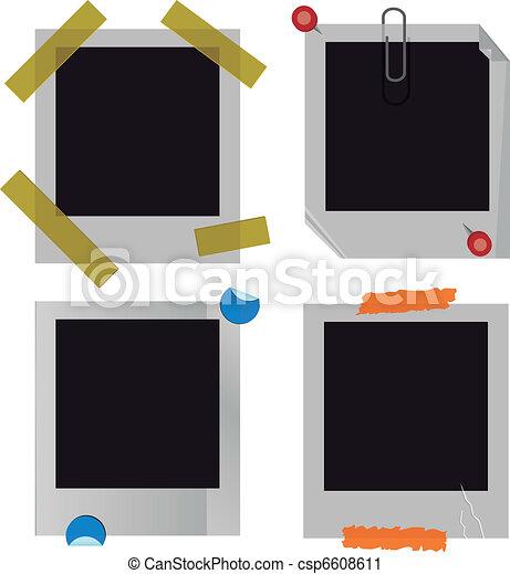 Polaroid picture frame set - csp6608611