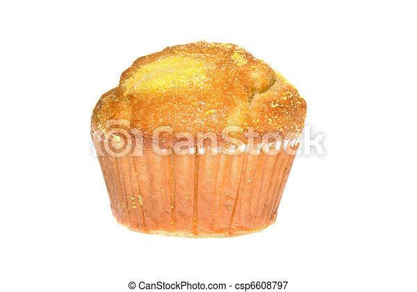 Corn bread muffin - csp6608797
