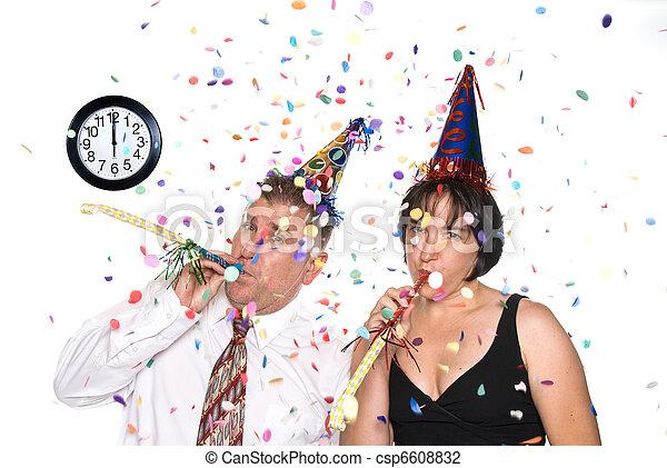 New Years Eve Celebration - csp6608832
